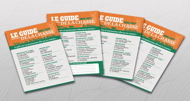 Bannière Guides de la Chasse 2016-2017